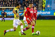ARNHEM - 29-01-2017, Vitesse - AZ, Stadion Gelredome, 2-1, AZ speler Mats Seuntjens.