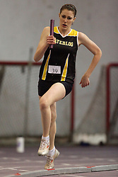 London, Ontario ---11-01-22---   Nicole Cress of the Waterloo Warriors competes at the 2011 Don Wright meet at the University of Western Ontario, January 22, 2011..GEOFF ROBINS/Mundo Sport Images.