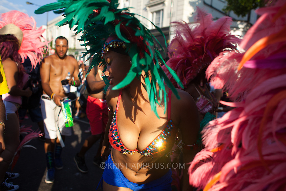 A ray of light and wild dancing.  The Notting Hill Carnival has been running since 1966 and is every year attended by up to a million people. The carnival is a mix of amazing dance parades and street parties with a distinct Caribbean feel.