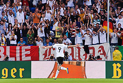29.05.2011, Rhein-Neckar-Arena, Sinsheim, GER, LS FSP, Deutschland (GER) vs Uruguay (UY), im Bild Andre Schuerrle of Germany celebrates his goal during the Football Friendly Ship betweem Germany and Uruguay  for the Rhein-Neckar-Arena in Sinsheim, Germany, 2011/05/29, EXPA Pictures © 2011, PhotoCredit: EXPA/ nph/  Roth       ****** out of GER / SWE / CRO  / BEL ******