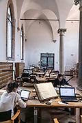 Venice, Archicvio di Stato, the refettorio room
