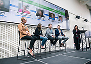 Justin Nicols from Sift Healthcare at the Wisconsin Entrepreneurship Conference at Venue 42 in Milwaukee, Wisconsin, Tuesday, June 4, 2019.