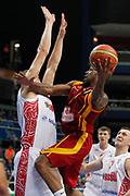DESCRIZIONE : Vilnius Lithuania Lituania Eurobasket Men 2011 Second Round Russia Macedonia Russia FYR of Macedonia<br /> GIOCATORE : Bo Mc Calebb<br /> CATEGORIA : tiro penetrazione<br /> SQUADRA : Macedonia FYR of Macedonia<br /> EVENTO : Eurobasket Men 2011<br /> GARA : Russia Macedonia Russia FYR of Macedonia<br /> DATA : 12/09/2011<br /> SPORT : Pallacanestro <br /> AUTORE : Agenzia Ciamillo-Castoria/M.Metlas<br /> Galleria : Eurobasket Men 2011<br /> Fotonotizia : Vilnius Lithuania Lituania Eurobasket Men 2011 Second Round Russia Macedonia Russia FYR of Macedonia<br /> Predefinita :