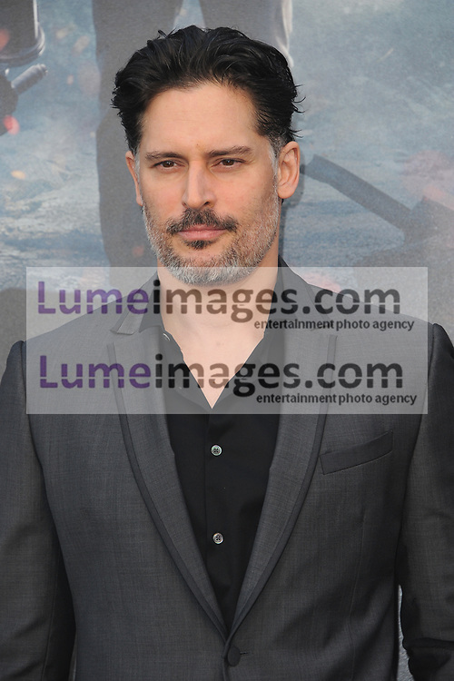 Joe Manganiello at the Los Angeles premiere of 'Rampage' held at the Microsoft Theater in Los Angeles, USA on April 4, 2018.
