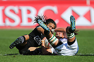 DUBAI, UNITED ARAB EMIRATES - Thursdays 30 November 2017, Marithy Pienaar of South Africa during HSBC Emirates Airline Dubai Rugby Sevens match between South Africa and New Zealand at The Sevens Stadium in Dubai.<br /> Photo by Roger Sedres/ImageSA