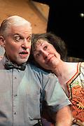 """The Bas Bleu Theatre Company rehearses """"King O' The Moon,"""" November 19, 2014."""