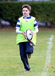 Children take part in the Worcester Warriors Half Term Holiday Camp - Mandatory by-line: Robbie Stephenson/JMP - 26/10/2016 - RUGBY - Warwick School - Warwick, England - Worcester Warriors Half Term Holiday Camp