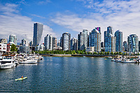 Vancouver Skyline from Charleson Park