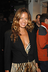 JADE JAGGER at a party to celebrate the launch of the new Fiat 500 car held at the London Eye, Westminster Bridge Road, London on 21st January 2008.<br />