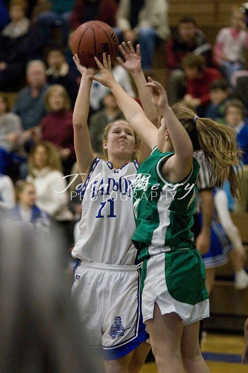 MCHS JV Girls Basketball .vs Greene  .December 7, 2006
