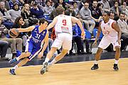 DESCRIZIONE : Milano Eurolega Euroleague 2014-15 EA7 Emporio Armani Milano Anadolu Efes Istanbul<br /> GIOCATORE :  Thomas Heurtel<br /> CATEGORIA : Controcampo  Palleggio<br /> SQUADRA :Efes Istanbul<br /> EVENTO : Eurolega Euroleague 2014-2015 GARA : Emporio Armani Milano Anadolu Efes Istambul <br /> DATA : 06/02/2015<br /> SPORT : Pallacanestro <br /> AUTORE : Agenzia Ciamillo-Castoria/I.Mancini<br /> Galleria : Eurolega Euroleague 2014-2015 Fotonotizia : Milano Eurolega Euroleague 2014-15 Emporio Armani Milano Anadolu Efes Istambul<br /> Predefinita :