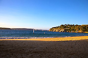 Camp Cove, late afternoon.
