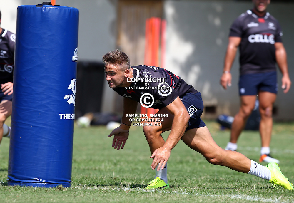 Jeremy Ward during The Cell C Sharks Pre Season training, session at Growthpoint Kings Park in Durban, South Africa. 16 February 2017(Photo by Steve Haag)<br /> <br /> images for social media must have consent from Steve Haag