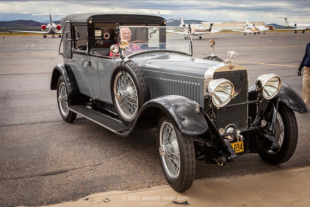 1925 Hispano Suiza, Planes and Cars at the Santa Fe Airport, 2013 Santa Fe Concorso.