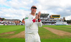 Marcus Trescothick of Somerset applauds the crowd.  - Mandatory by-line: Alex Davidson/JMP - 22/09/2016 - CRICKET - Cooper Associates County Ground - Taunton, United Kingdom - Somerset v Nottinghamshire - Specsavers County Championship Division One