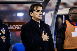 Zlatko Dalic, head coach of Croatia during the football match between National teams of Croatia and Greece in First leg of Playoff Round of European Qualifiers for the FIFA World Cup Russia 2018, on November 9, 2017 in Stadion Maksimir, Zagreb, Croatia. Photo by Ziga Zupan / Sportida