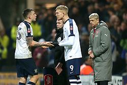 Simon Makienok of Preston North End replaces Jordan Hugill - Mandatory by-line: Matt McNulty/JMP - 07/01/2017 - FOOTBALL - Deepdale - Preston, England - Preston North End v Arsenal - Emirates FA Cup third round