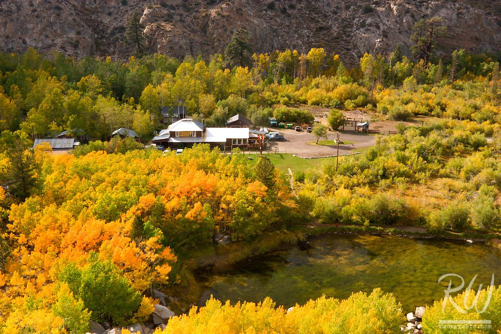 Cardinal Village Resort in Fall, Aspendell, California