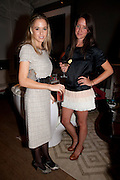 FLORENCE BRUDENELL-BRUCE; INDIA LANGTON, Party hosted for Jason Wu by Plum Sykes and Christine Al-Bader. Ladbroke Grove. London. 22 March 2011. -DO NOT ARCHIVE-© Copyright Photograph by Dafydd Jones. 248 Clapham Rd. London SW9 0PZ. Tel 0207 820 0771. www.dafjones.com.