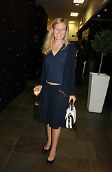 ALANNAH WESTON at the opening party of the new Frankie's Bar & Grill at Selfridges, Oxford Street, London on 6th September 2006.<br />