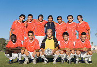Soccer team portrait