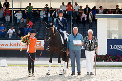 Cornelissen Adelinde, NED, Governor Str<br /> Longines FEI/WBFSH World Breeding Dressage Championships for Young Horses - Ermelo 2017<br /> © Hippo Foto - Dirk Caremans<br /> 06/08/2017