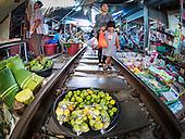 Samut Songkhram Train Market Reopens