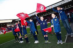 Flagbearers - Rogan/JMP - 18/01/2020 - Ashton Gate Stadium - Bristol, England - Bristol City v Barnsley - Sky Bet Championship.