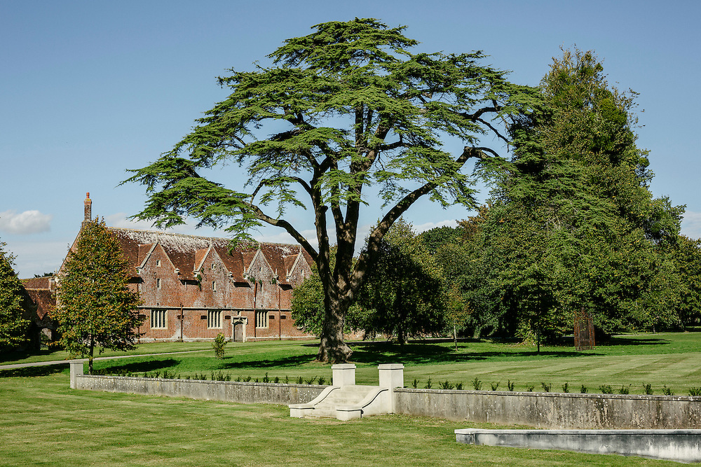 The grounds of St. Giles House, home of the Earls of Shaftesbury since 1651. Currently, it is the 12th Earl of Shaftesbury, Nicholas, and his wife that lives in the house.