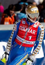 Andre Myhrer of Sweden in action during 2nd Run of Men's Slalom of FIS Ski World Cup Alpine Kranjska Gora, on March 6, 2011 in Vitranc/Podkoren, Kranjska Gora, Slovenia.  (Photo By Vid Ponikvar / Sportida.com)