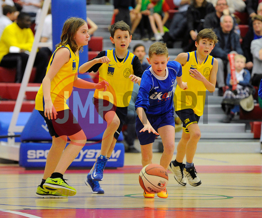 - Photo mandatory by-line: Joe Meredith/JMP - Mobile: 07966 386802 - 05/02/2015 - SPORT - Basketball - Bristol - SGS Wise Campus - Sport Schools Cup