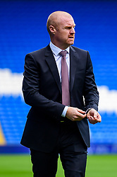 Burnley manager Sean Dyche walks around the pitch prior to kick off - Mandatory by-line: Ryan Hiscott/JMP - 30/09/2018 -  FOOTBALL - Cardiff City Stadium - Cardiff, Wales -  Cardiff City v Burnley - Premier League