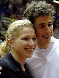 17-12-2006 TENNIS: SKY RADIO TENNIS MASTER: ROTTERDAM<br /> Michaella Krajicek en Robin Haase winnen de Masters titel<br /> ©2006-WWW.FOTOHOOGENDOORN.NL