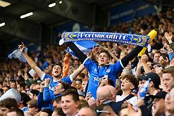 Portsmouth fans celeberate - Mandatory by-line: Jason Brown/JMP - 06/05/2017 - FOOTBALL - Fratton Park - Portsmouth, England - Portsmouth v Cheltenham Town - Sky Bet League Two