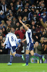 West Bromwich Albion's Craig Dawson celebrates his goal. - Photo mandatory by-line: Dougie Allward/JMP - Mobile: 07966 386802 - 02/12/2014 - SPORT - Football - West Bromwich - The Hawthorns - West Bromwich Albion v West Ham United - Barclays Premier League