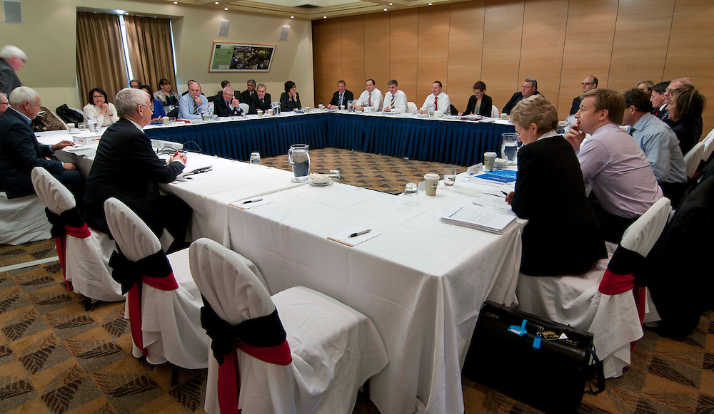 The Government cabinet meeting Christchurch, New Zealand, Monday, September 05, 2011. Credit:SNPA / David Alexander.
