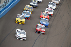 March 10, 2018 - Avondale, Arizona, United States of America - March 10, 2018 - Avondale, Arizona, USA: Tyler Reddick (9) and Ryan Reed (16) lead the field on a restart during the DC Solar 200 at ISM Raceway in Avondale, Arizona. (Credit Image: © Chris Owens Asp Inc/ASP via ZUMA Wire)