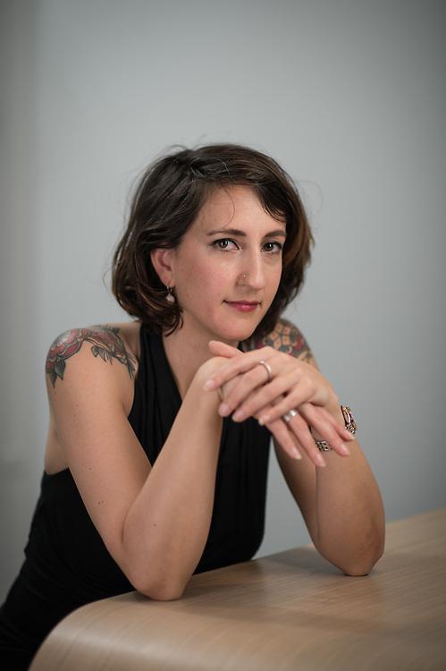 Jessica Jaccoud, avocate et députée socialiste au Grand Conseil vaudois. Vevey, 8 juin 2016.