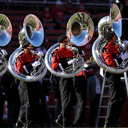 Sep 19, 2009; Piscataway, NJ, USA; The Rutgers Marching Band performs before the first half of NCAA college football between Rutgers and Florida International at Rutgers Stadium.