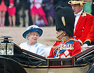 Trooping Of The Colour Parade 2014