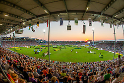 Overview stadion Aachen during the <br /> Mercedes-benz Nationenpreis<br /> Weltfest des Pferdesports CHIO Aachen 2014<br /> © Hippo Foto - Dirk Caremans