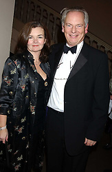 FRANCIS MAUDE MP and his wife CHRISTINA at a dinner attended by the Conservative leader Michael Howard and David Davis and David Cameron held at the Banqueting Hall, Whitehall, London on 29th November 2005.<br />