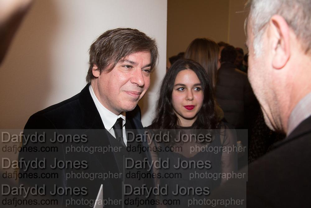 GEORGE CONDO; ELEANOR CONDO, George Condo - private view . Simon Lee Gallery, 12 Berkeley Street, London, 10 February 2014