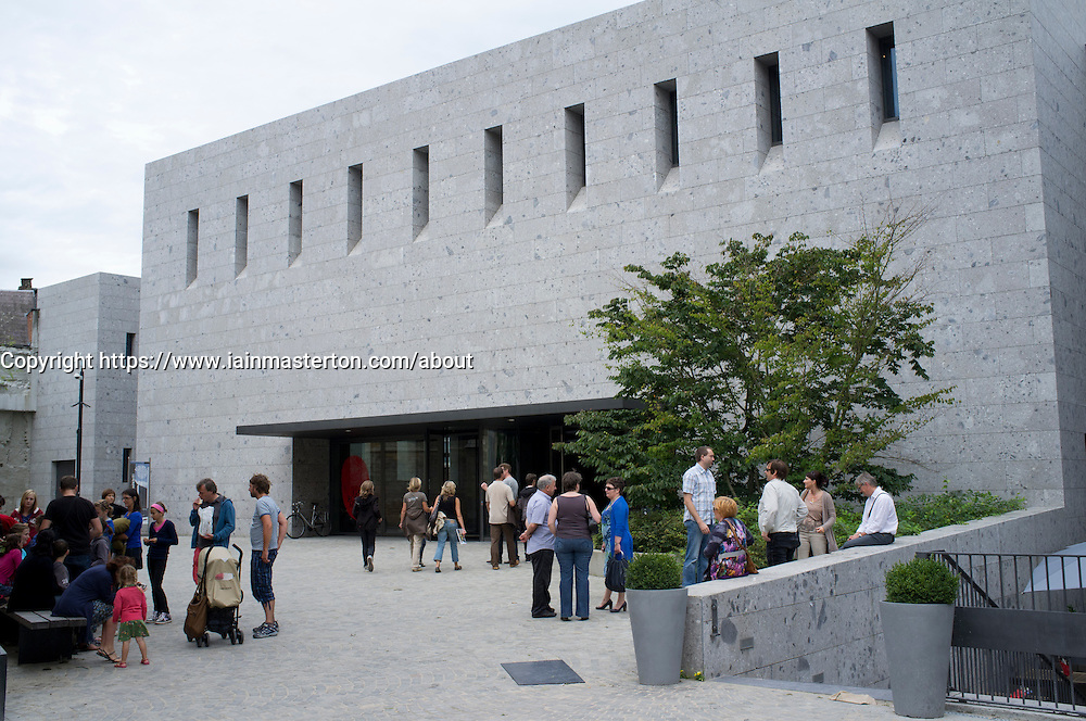 The new Gallo-Roman Museum in Tongeren in Belgium