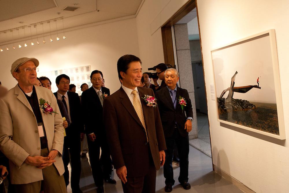Daegu/South Korea, Republic Korea, KOR, 26.09.2009: Opening day of the Daegu Photo Biennale 2010.