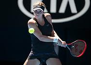 JANA FETT (CRO)<br /> <br /> Tennis - Australian Open 2018 - Grand Slam / ATP / WTA -  Melbourne  Park - Melbourne - Victoria - Australia  - 17 January 2018.