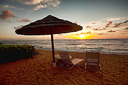 Sunrise, Waipouli Beach, Kauai, Hawaii
