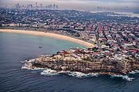 Bondi Beach & Sydney Skyline