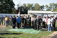 1st Squadron, 9th Cavalry Monument Dedication. Motts Military Museum, Columbus, Ohio. (Photo by Jeremy Hogan)