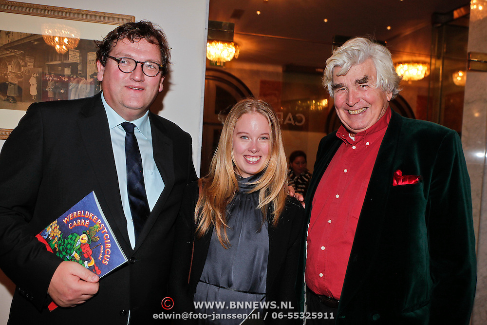 NLD/Amsterdam/20101216 - Wereldkerstcircus 2010 Carre, Sjuul Paradijs en Cor van Zadelhoff